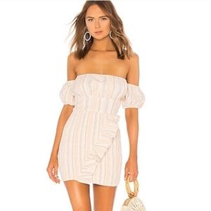NWT Tularosa Tiffany Dress Smocked x Revolve